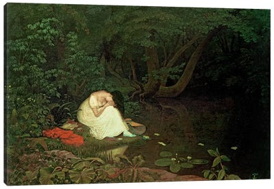 Disappointed love, 1821  Canvas Art Print