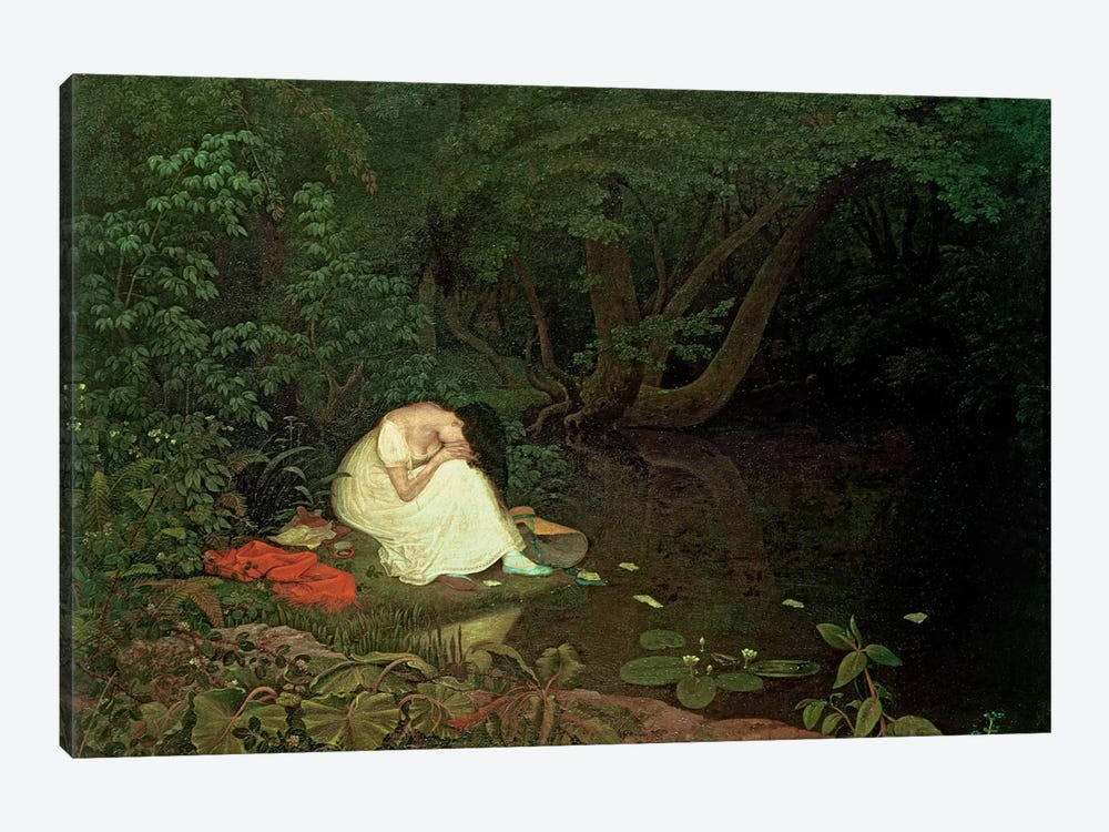 Disappointed love, 1821 1-piece Canvas Wall Art