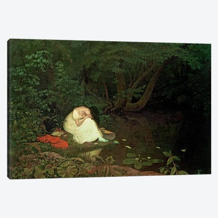 Disappointed love, 1821  Canvas Print #BMN318} by Francis Danby Canvas Art