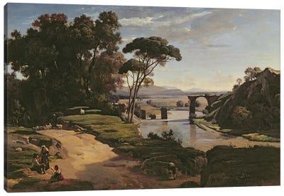 The Bridge at Narni, c.1826-27  Canvas Art Print