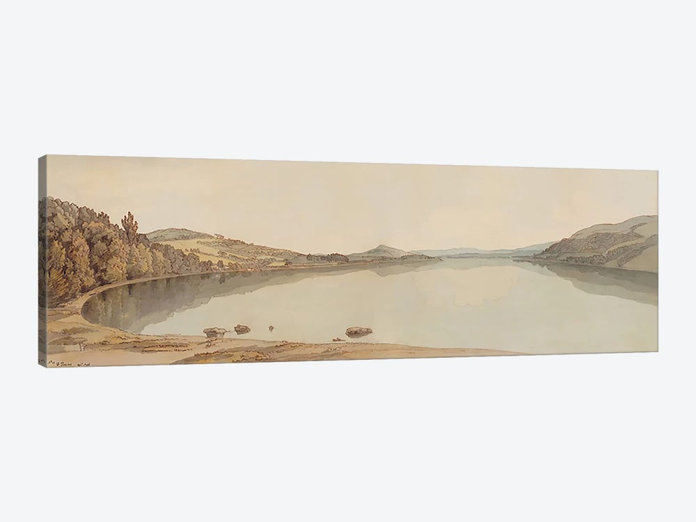 Lake Windermere, 1786  by Francis Towne 1-piece Canvas Wall Art