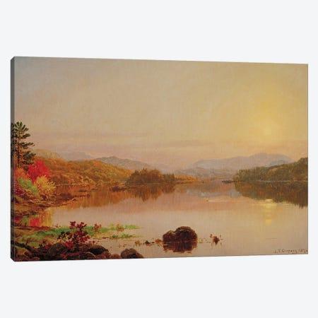 Lake Wawayanda, 1876  Canvas Print #BMN3209} by Jasper Francis Cropsey Art Print