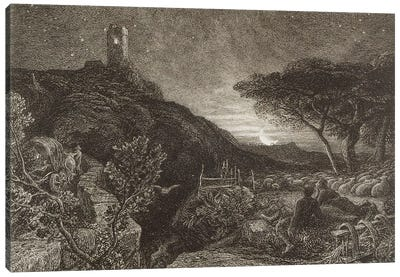 The Lonely Tower, 1879  Canvas Art Print