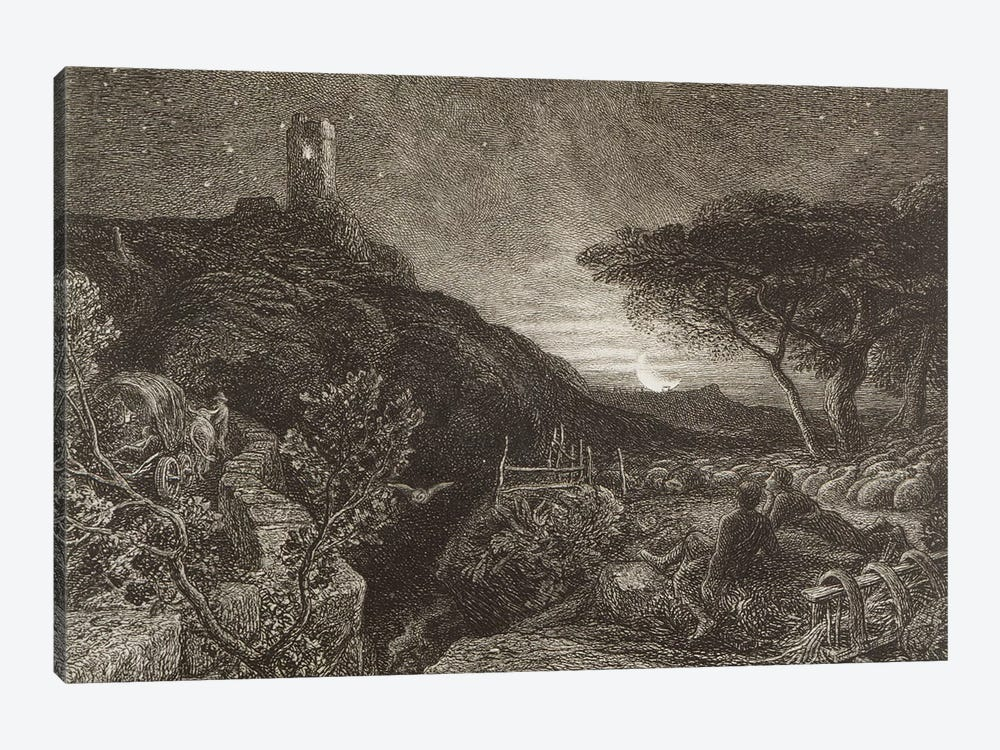The Lonely Tower, 1879  by Samuel Palmer 1-piece Canvas Art Print