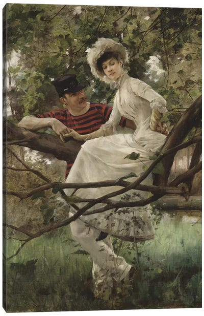 Idyll, 1925  Canvas Art Print