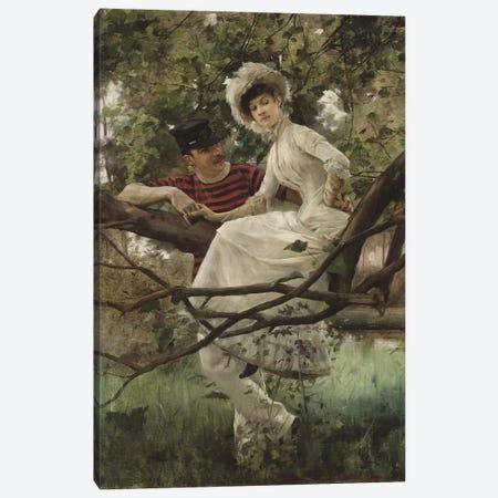 Idyll, 1925  Canvas Print #BMN3215} by Carl Larsson Art Print