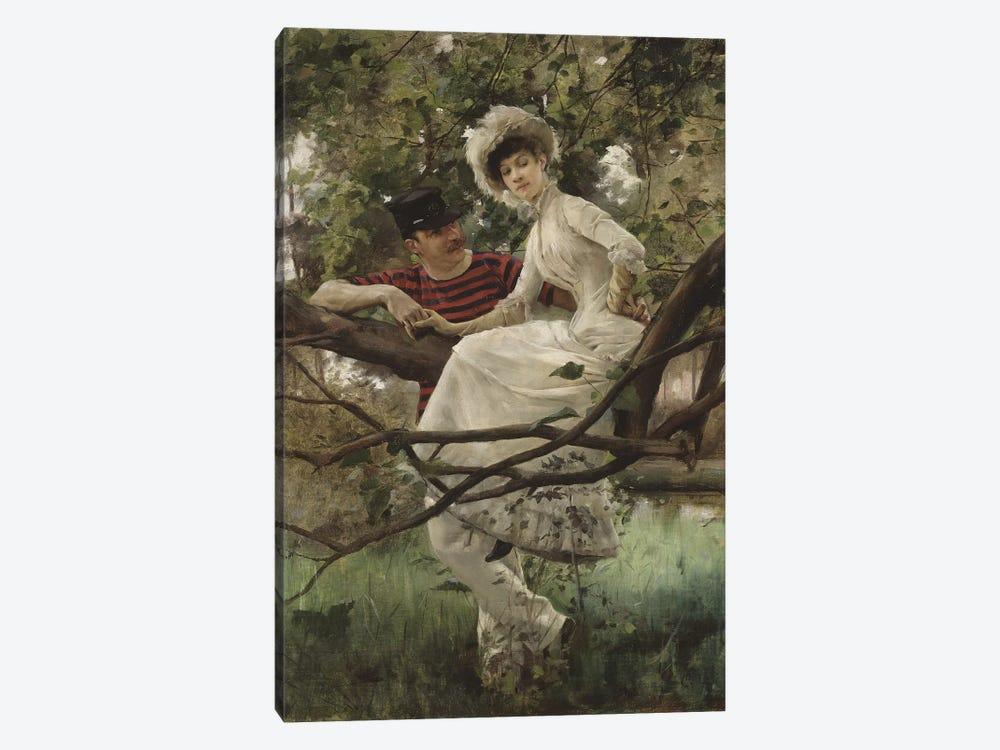 Idyll, 1925  by Carl Larsson 1-piece Canvas Artwork