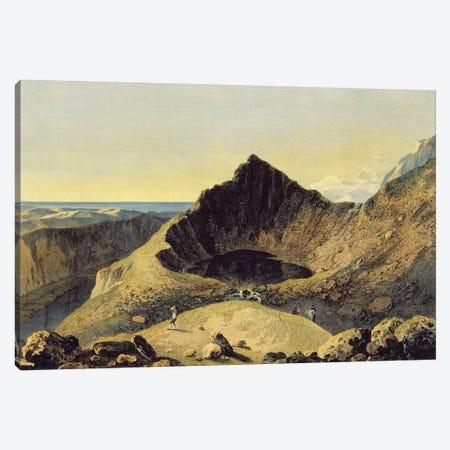 The Summit of Cader Idris Mountain, 1775  Canvas Print #BMN3216} by Richard Wilson Canvas Print