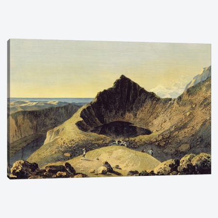The Summit of Cader Idris Mountain, 1775  Canvas Print #BMN3216} by Richard Wilson Canvas Print