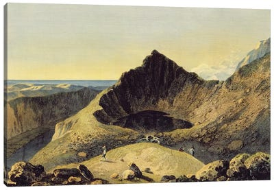 The Summit of Cader Idris Mountain, 1775  Canvas Art Print