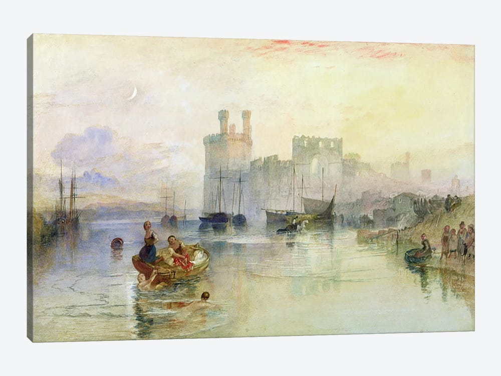 View of Carnarvon Castle  by J.M.W. Turner 1-piece Art Print