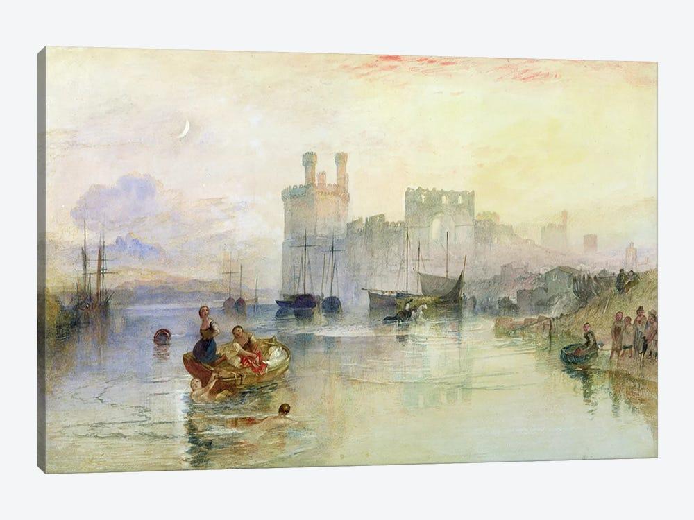 View of Carnarvon Castle  by J.M.W. Turner 1-piece Art Print