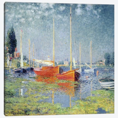 Argenteuil, 1875   Canvas Print #BMN3242} by Claude Monet Canvas Art Print