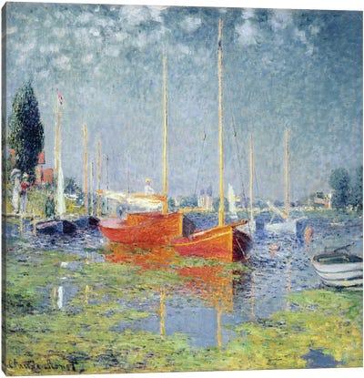 Argenteuil, 1875   Canvas Art Print