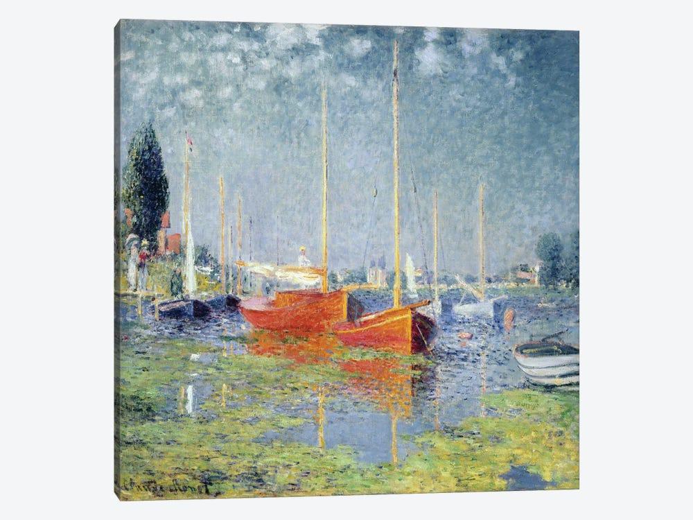 Argenteuil, 1875   by Claude Monet 1-piece Canvas Art
