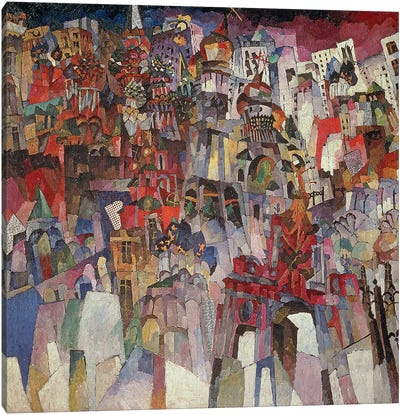 Moscow, 1913  Canvas Print #BMN3244
