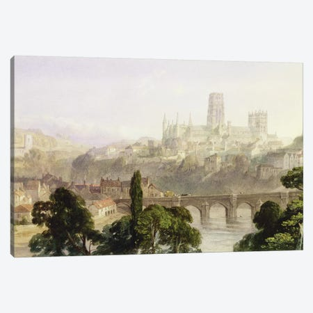 Durham Cathedral, 1846  Canvas Print #BMN3245} by George Arthur Fripp Canvas Artwork