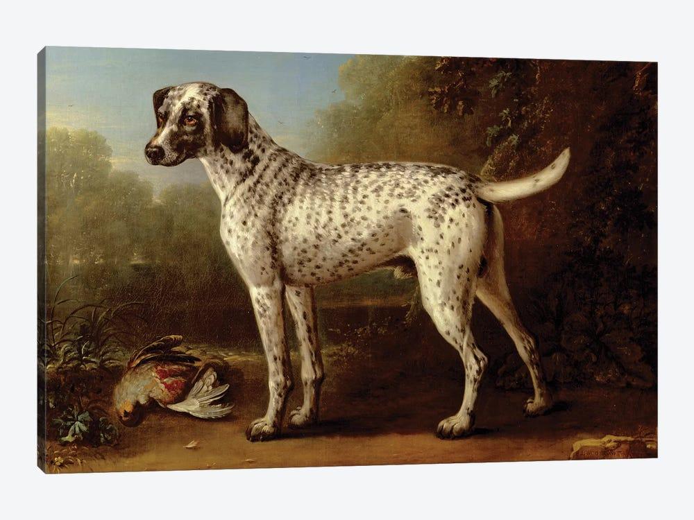 Grey spotted hound, 1738  by John Wootton 1-piece Canvas Artwork