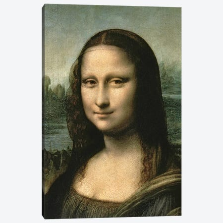 Mona Lisa, c.1503-6   Canvas Print #BMN3276} by Leonardo da Vinci Canvas Art Print