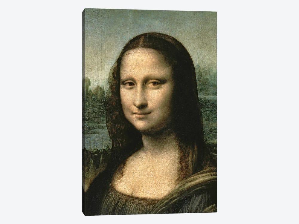 Mona Lisa, c.1503-6   by Leonardo da Vinci 1-piece Canvas Art Print