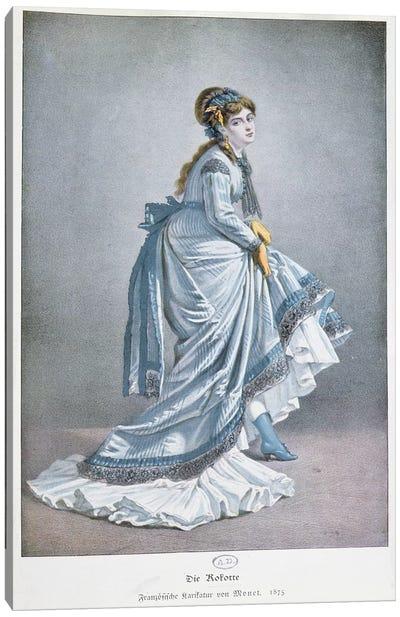 'Die Kokotte', 1875  Canvas Print #BMN3278