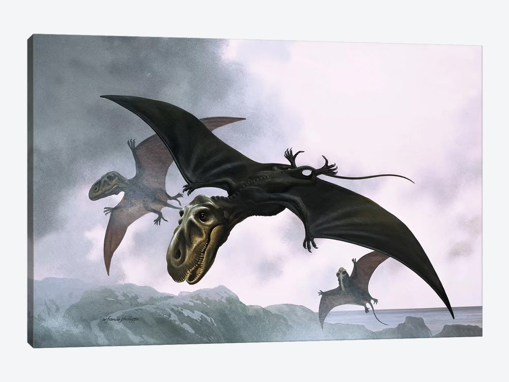 Dimorphodon by William Francis Phillipps 1-piece Canvas Artwork