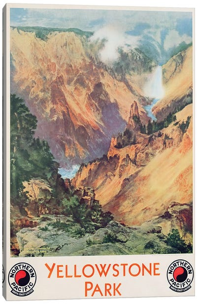 Yellowstone Park, 1934  Canvas Art Print