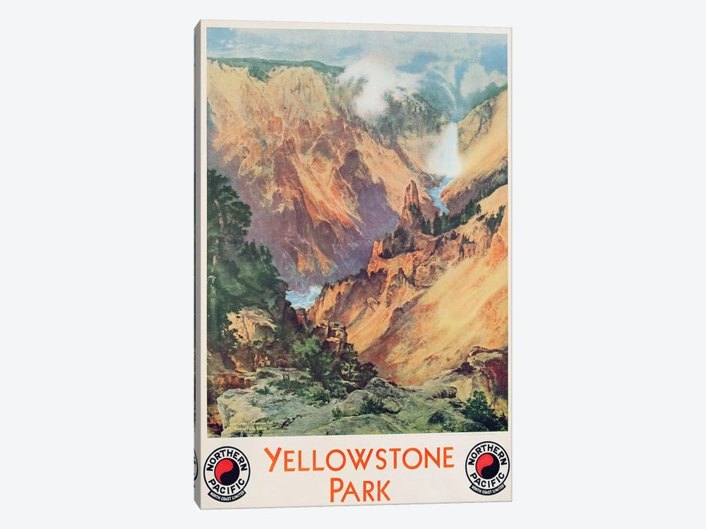 Yellowstone Park, 1934  by Thomas Moran 1-piece Art Print