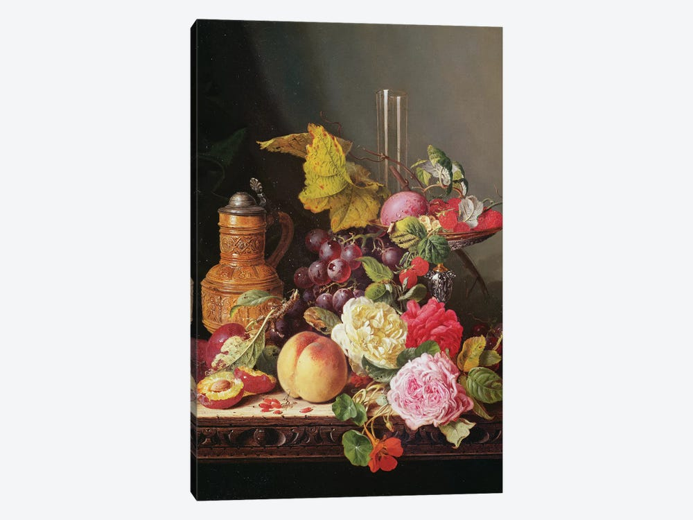 Still Life  by Edward Ladell 1-piece Canvas Wall Art