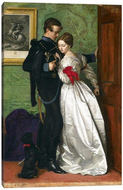 The Black Brunswicker, 1860  Canvas Print #BMN3331
