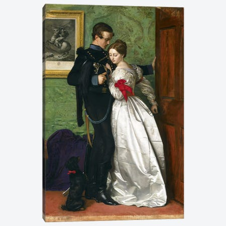 The Black Brunswicker, 1860  Canvas Print #BMN3331} by Sir John Everett Millais Art Print