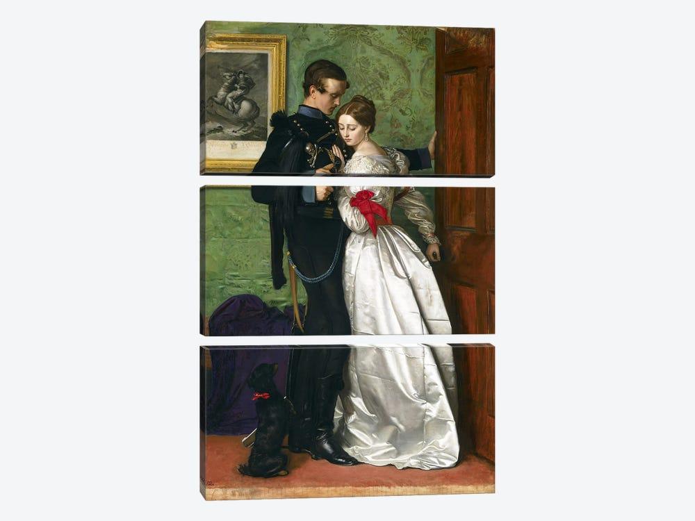 The Black Brunswicker, 1860  by Sir John Everett Millais 3-piece Canvas Art Print