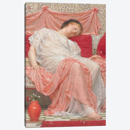 Jasmine  Canvas Print #BMN3333} by Albert Joseph Moore Art Print