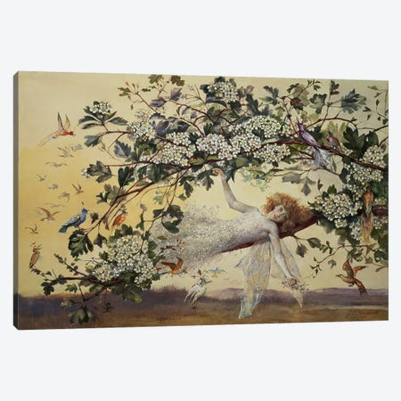 Ariel, c.1858-68 Canvas Print #BMN335} by John Anster Fitzgerald Canvas Print
