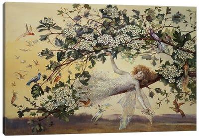Ariel, c.1858-68 Canvas Art Print