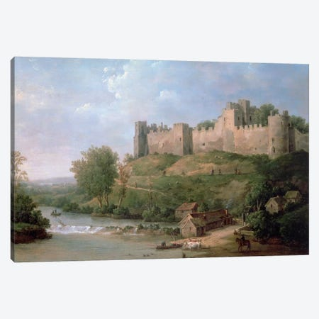 Ludlow Castle  Canvas Print #BMN336} by William Marlow Canvas Print