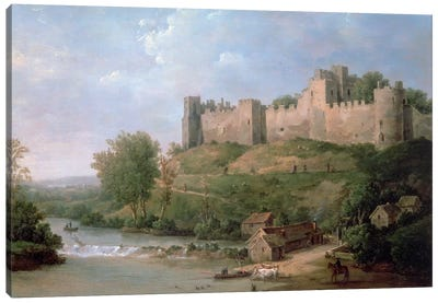 Ludlow Castle  Canvas Art Print