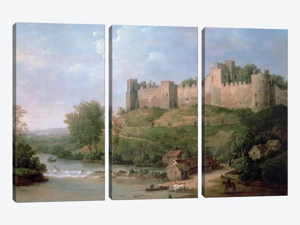 Ludlow Castle  by William Marlow 3-piece Canvas Wall Art