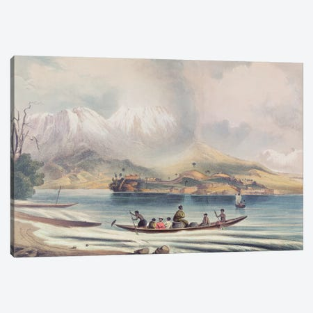Tongariro Volcano, New Zealand  Canvas Print #BMN3370} by English School Art Print