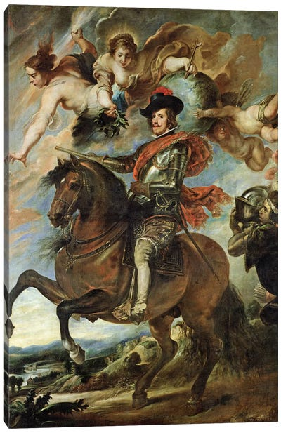 Portrait of Philip IV  Canvas Art Print