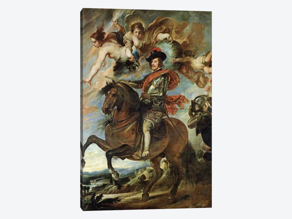Portrait of Philip IV  by Peter Paul Rubens 1-piece Canvas Print