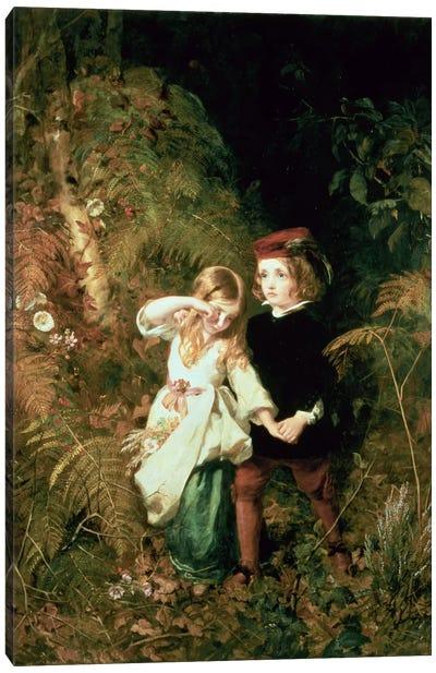 Children in the Wood Canvas Print #BMN340
