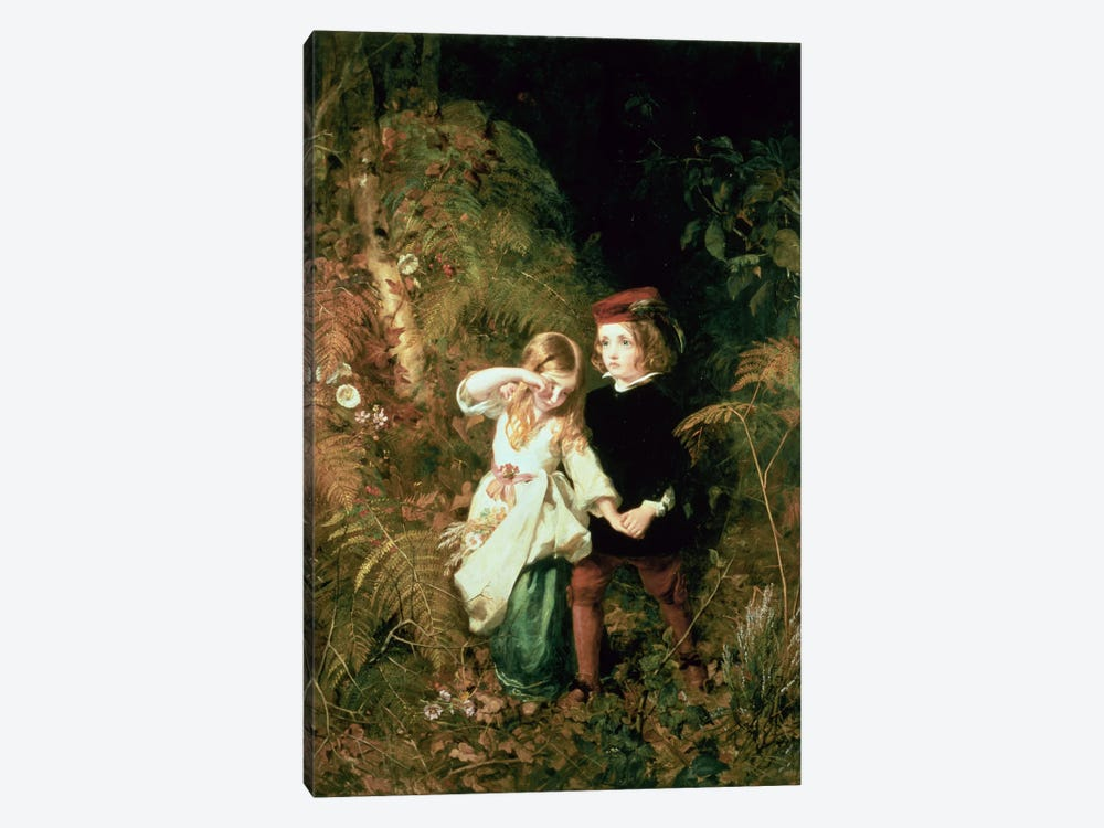 Children in the Wood by James Sant 1-piece Canvas Print