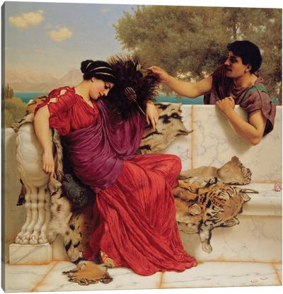 The Old, Old Story, 1903  Canvas Art Print