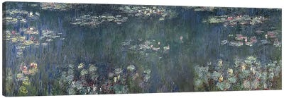 Waterlilies: Green Reflections, 1914-18 P Canvas Art Print