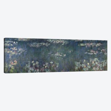 Waterlilies: Green Reflections, 1914-18 P Canvas Print #BMN3508} by Claude Monet Canvas Wall Art