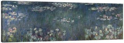 Waterlilies: Green Reflections, 1914-18 P Canvas Art Print