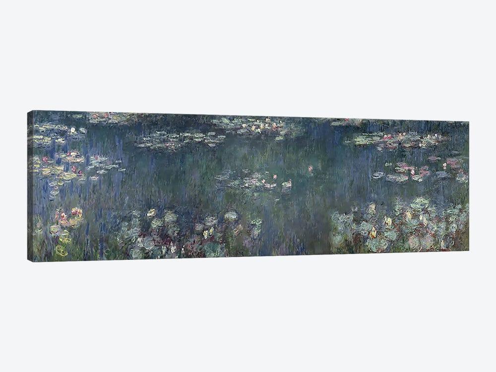 Waterlilies: Green Reflections, 1914-18 P by Claude Monet 1-piece Art Print