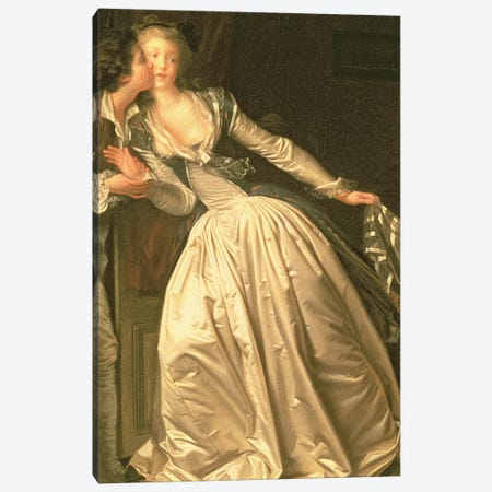 The Stolen Kiss, c.1788  Canvas Print #BMN3510} by Jean-Honore Fragonard Canvas Art Print