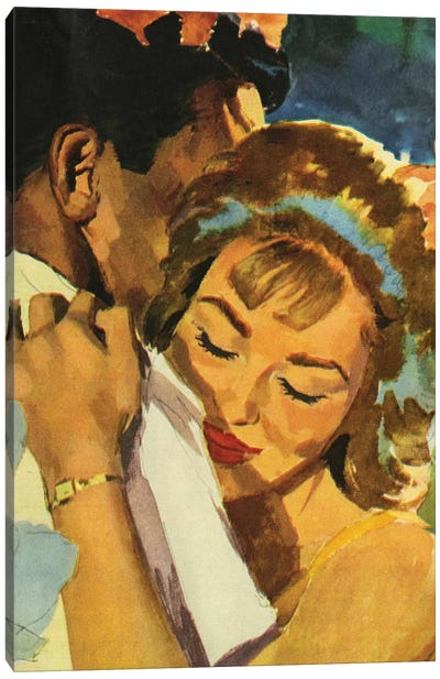 Illustration from magazine, 1962  Canvas Art Print